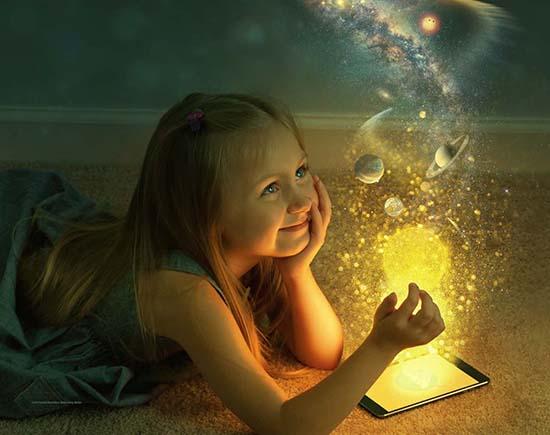 En grandissant, nous perdons notre âme d'enfant et l'imagination qui va avec !