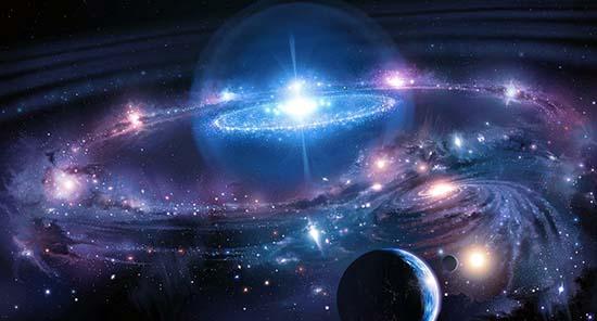 L'univers et ses lois telles que la loi de l'attraction et la loi de la vibration