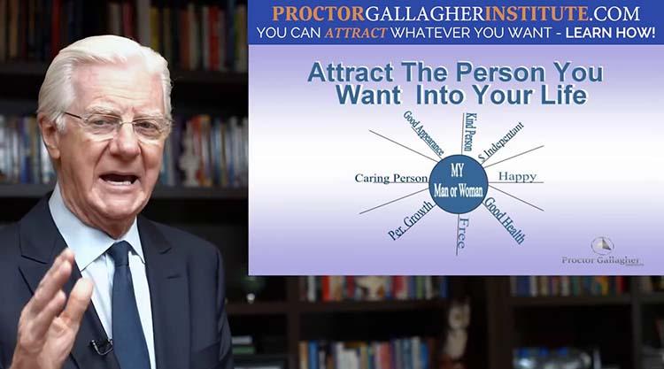 Bob Proctor explique la procédure à suivre pour que vous puissiez attirer à vous la personne de vos rêves