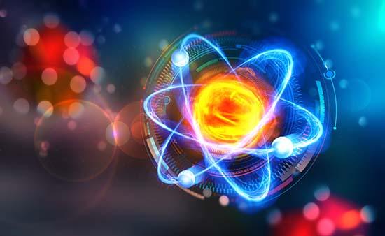 L'atome est lui-même composé d'un tourbillon d'énergie.