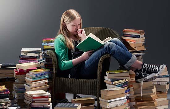 Lire peut devenir un véritable marathon