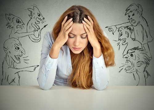 Nous nous faisons souvent souffrir avec nos popres pensées issues de nos conditionnements.