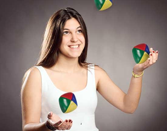 Modifier votre routine en apprenant à jongler, va vous permettre de pleinement prendre conscience que vous êtes l'unique maître de vos habitudes.